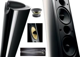 B&W XT8, Design speakers with hi-fi qualities.