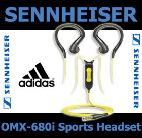 Sennheiser OMX680i Sports headset for iPhone and iPod