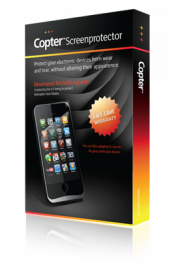 Copter, military grade screen protection for iPhone