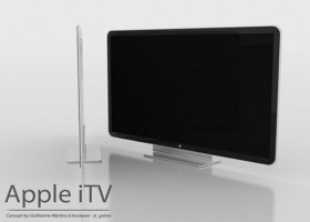 Apple iTV, 40 and 50 inch LED TV with gesture control